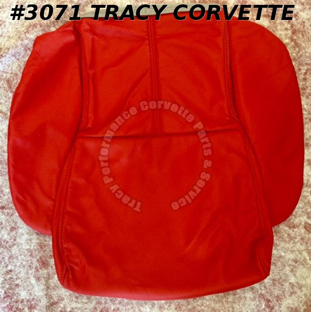 1994 Corvette NOS GM 10248469 10248470 Red Ltd Ed 1 Std Seat Cover Back & Bottom