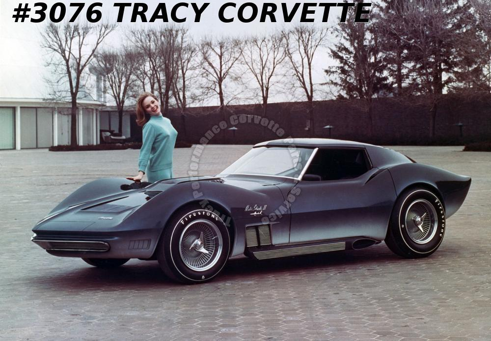 1968-1982 C3 Corvette New Mako Maco Shark Fiberglass Rear Body Kit 68 69 1970-82