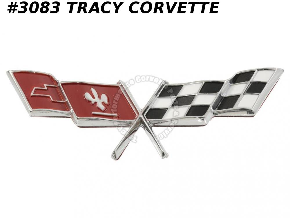 1977-1979 Corvette Side Fender Emblem GM# 466652  1978