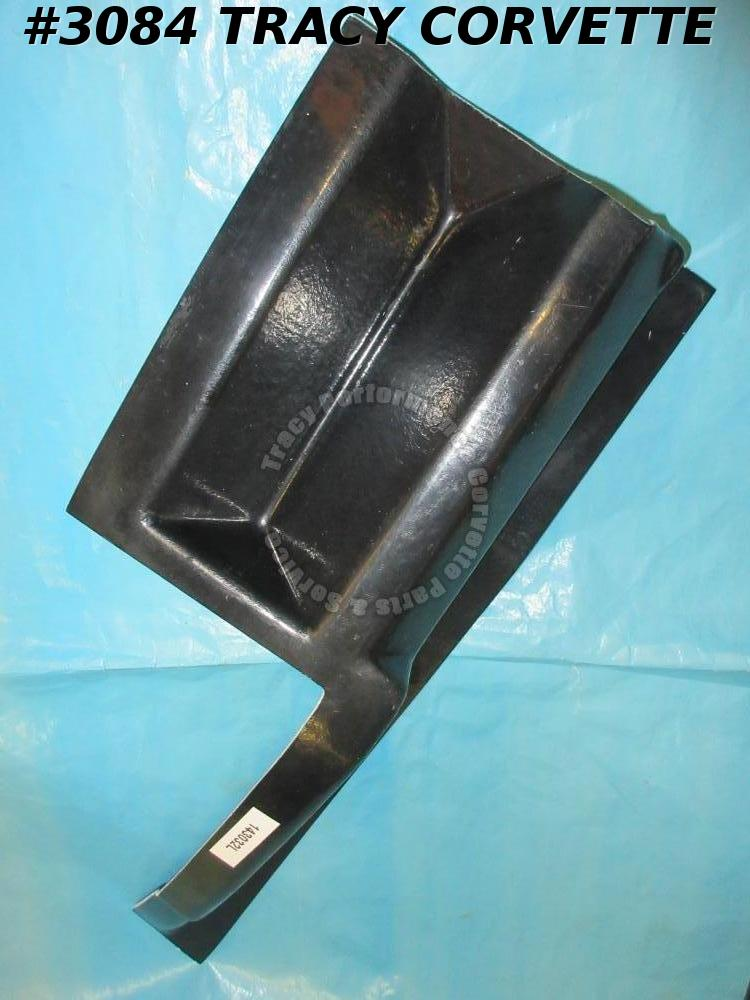 1968-1969 Corvette New Repro 3918593 LH Plenum Extension Hand LayUp Filler Panel