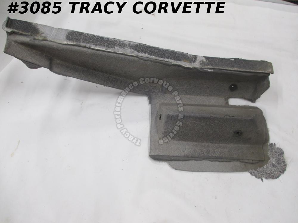 1968-1969 Corvette Good Used Original 3918593 LH Plenum Extension Louver Filler