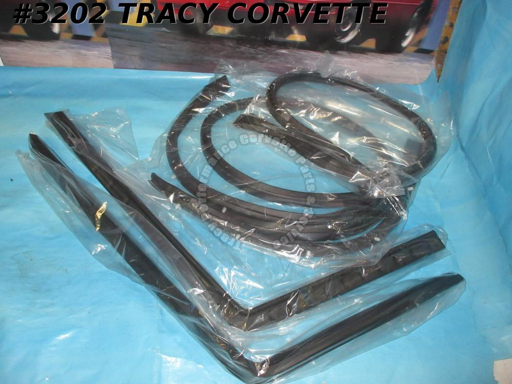1968-1975 Corvette Hardtop Weatherstrip Kit  with fasteners