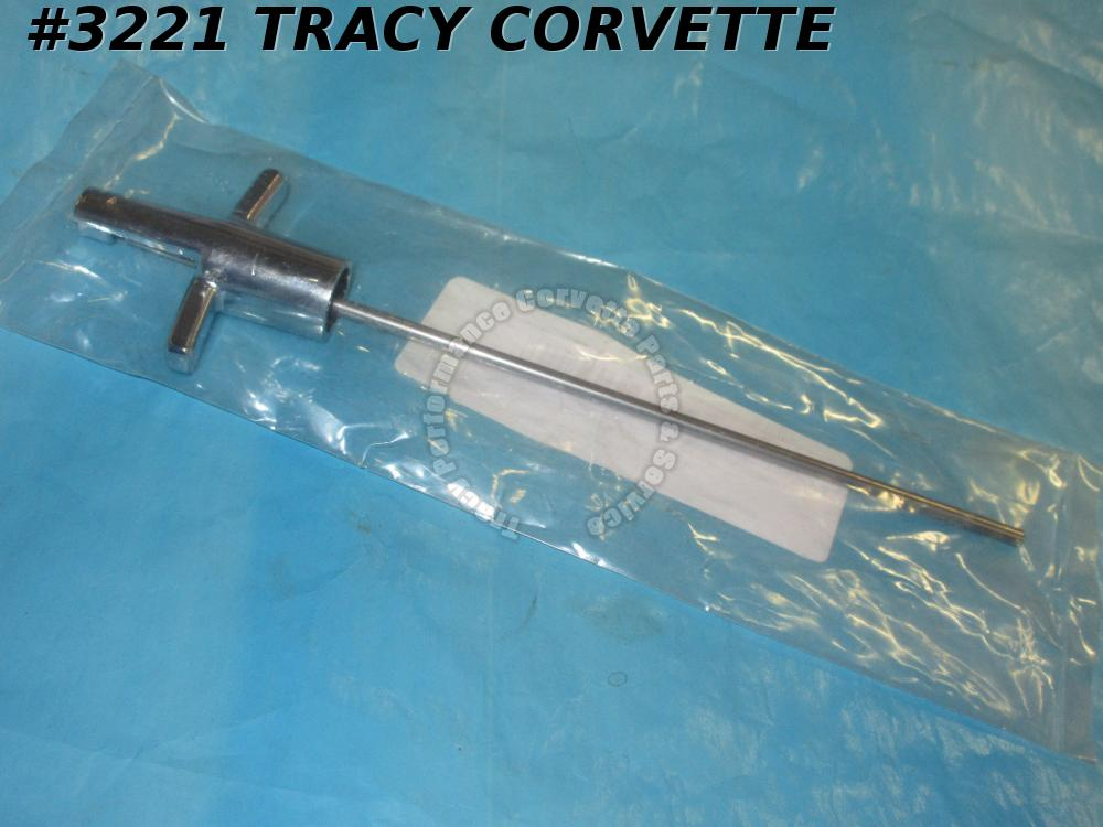 1968-1976 Corvette 4 Speed Reverse Lockout Control T-Handle New Repro 3921642