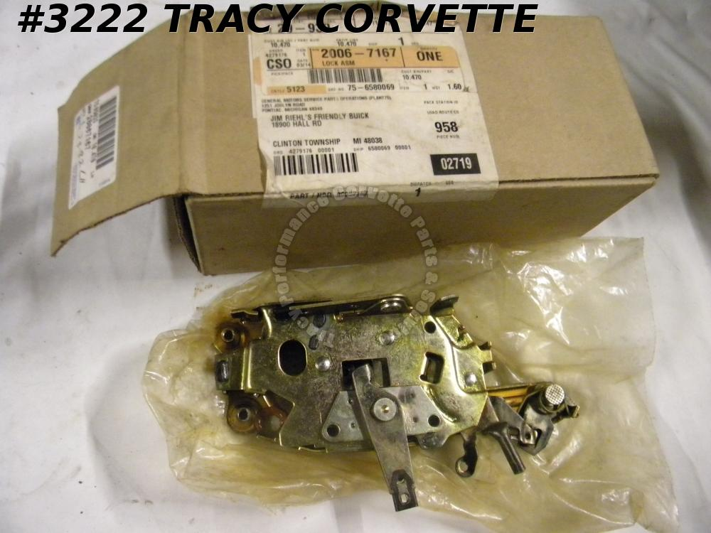 1978-1982 Corvette NOS 20067167 LH Door Lock Latch