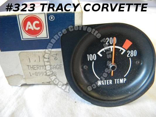 1975-1976 Corvette NOS 8992298 Water Temperature Gauge H2O Temp Coolant Gage 75