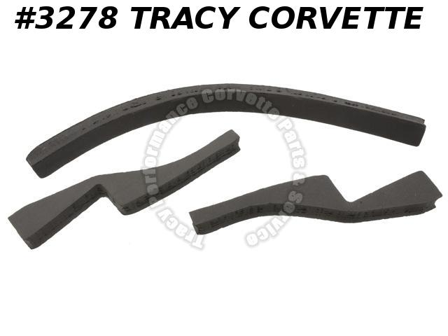 1978-1979 Corvette Radiator Air Dam Seal 1978 w/L82 & 1979 All