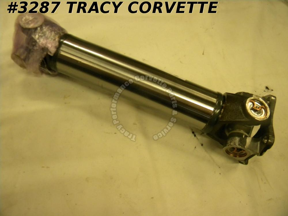 1963-1973 New Corvette Rear Half Shaft Assm. w/HD Spicer U-Joints/Ea 63-67 68-73