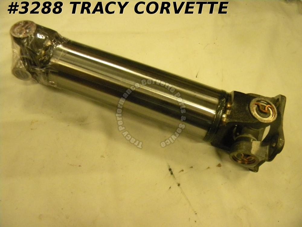 1974-1979 New Corvette Rear Half Shaft Assembly with HD Spicer U-Joints Each