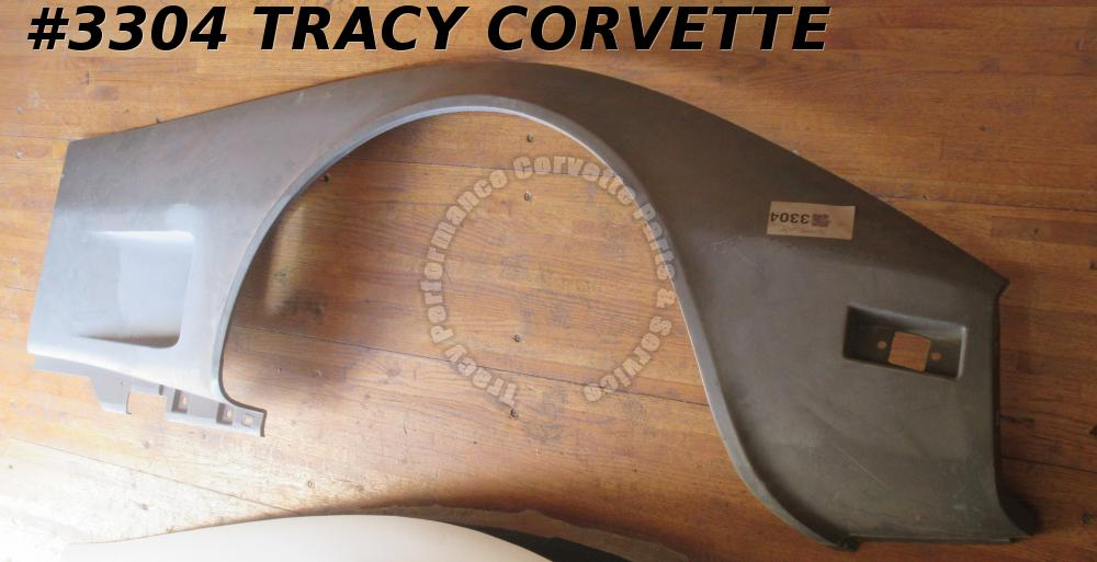 1973-1979 Corvette Front Side Fender Lower Fiberglass Right 327654 *Gray SMC*