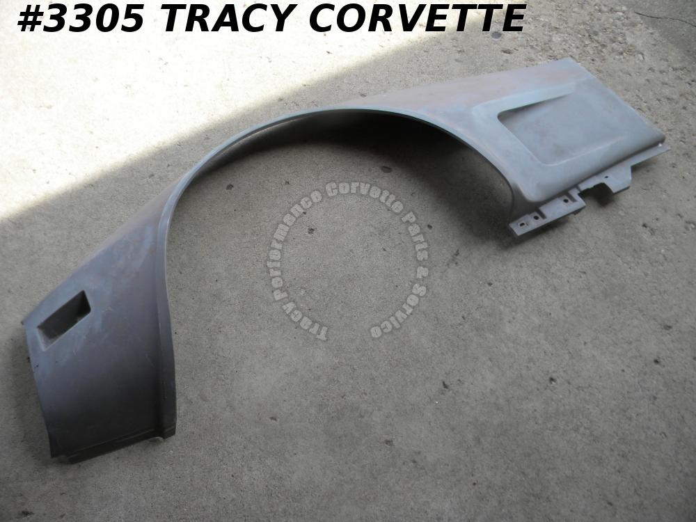 1973-1979 Corvette NOS 327653 LH Front Fender Side Panel 73 74 75 76 1977 78 79