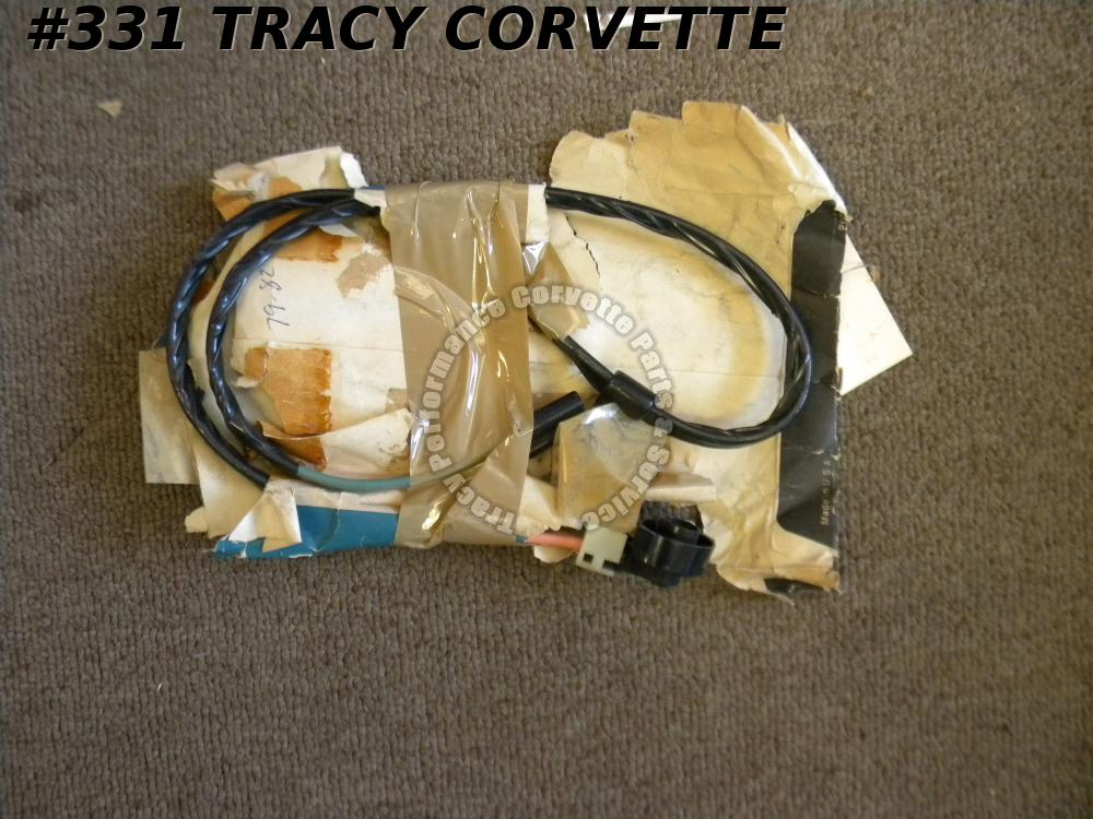 1979-1982 Corvette GM NOS 12005576 Auxiliary Cooling Fan Jumper Wiring Harness
