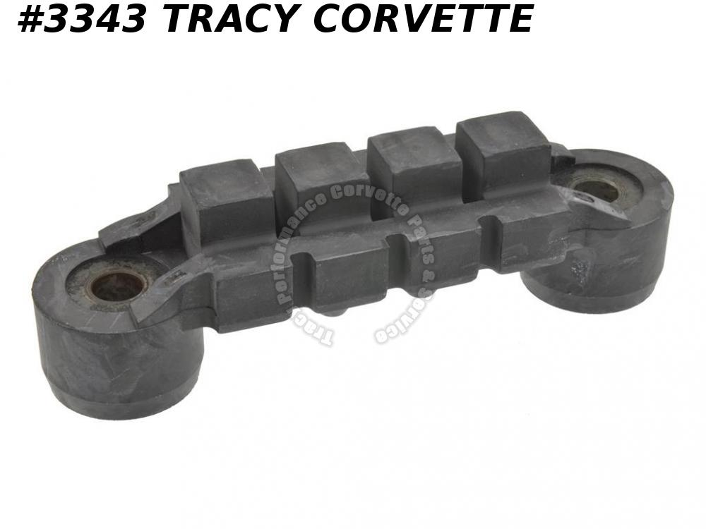 1953-1962 Corvette New Repro of 3711049 Auto & Manual Transmission Mount Rubber