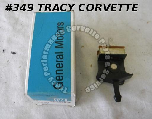 1977 1978 1979 Corvette NOS 362536 Heater Blower Switch without Air Conditioning