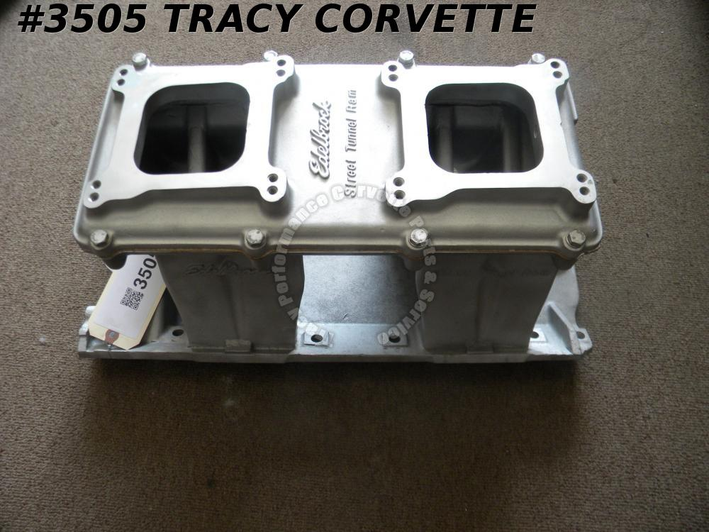 1965-85 Edelbrock BBC 7190 Street Tunnel Ram Intake Manifold and 7191 Lid