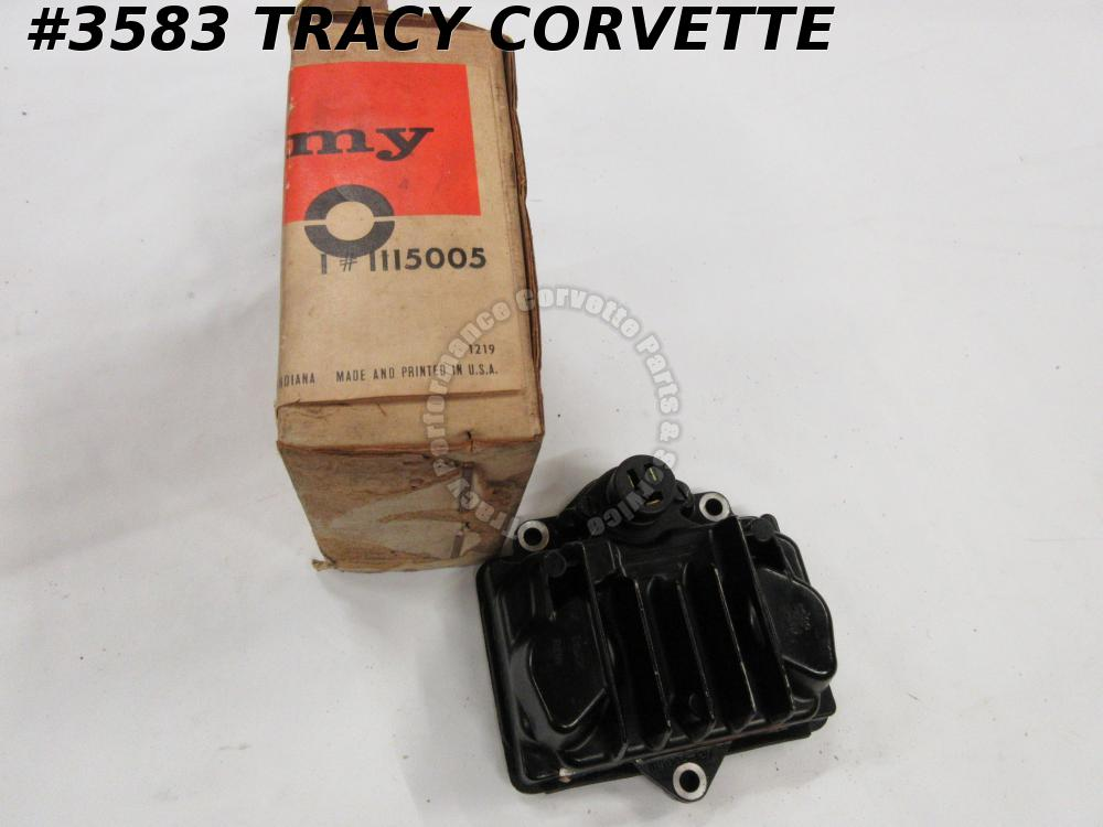 1964-1967 Corvette TI Ignition Amplifier Box 1115005 Delco Remy 1965 1966 C2