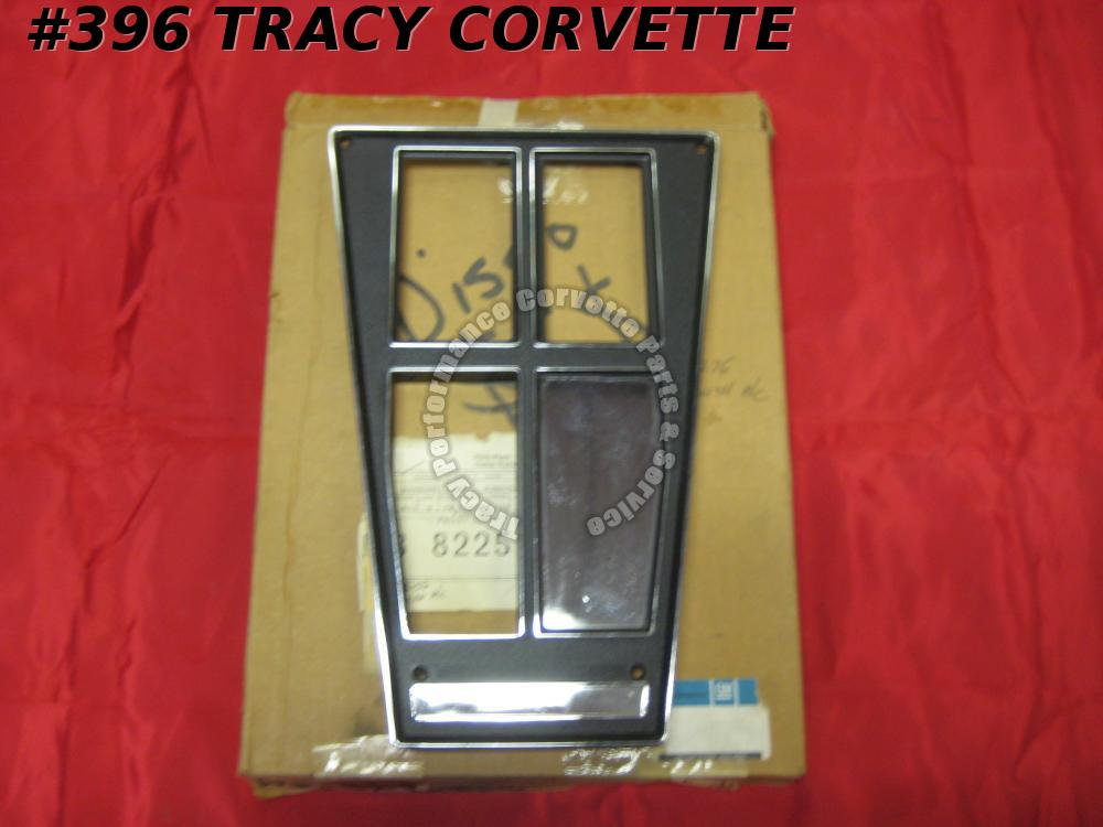 1972-1976 Corvette Console Shift Plate GM#3996821 4Speed w/AC 1973 1974 1975 NOS
