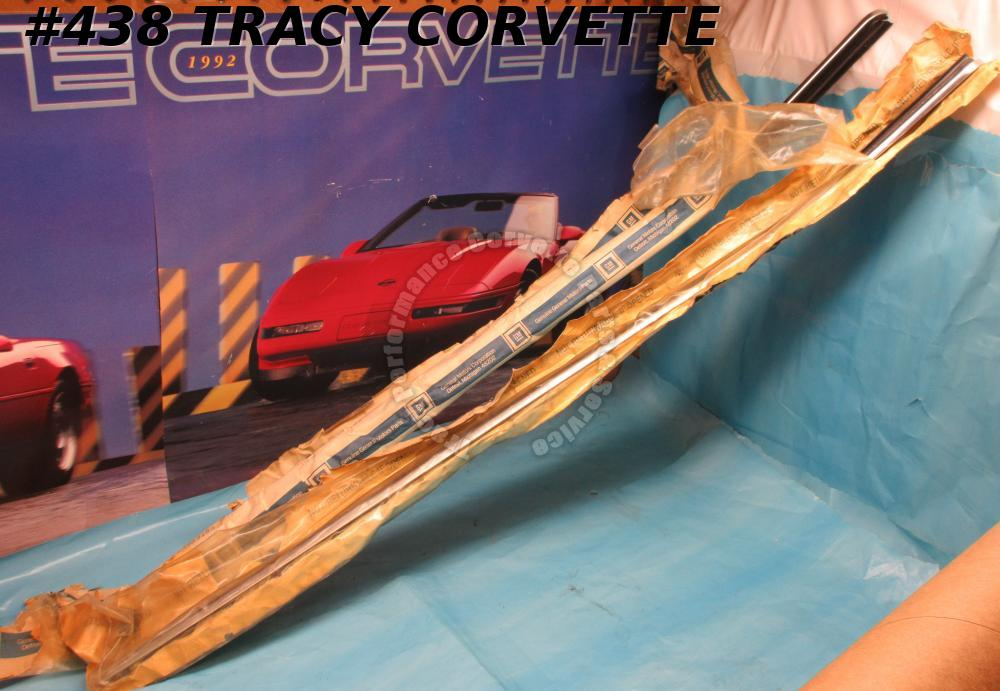 1969-1982 Corvette Door Glass Inner Seal NOS 3963193 3963194 Door Trim Panel Pr