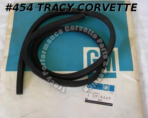 1969-1982 Corvette NOS 3918669 Battery Tray Lid Seal 69 70 71 72 73 74 75 76-82