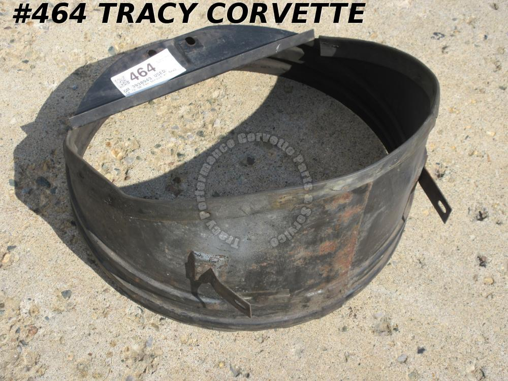 1968-1972 Corvette SBC Metal Fan Shroud 3938943 w/ Stapled Seal 1969 1970 1971