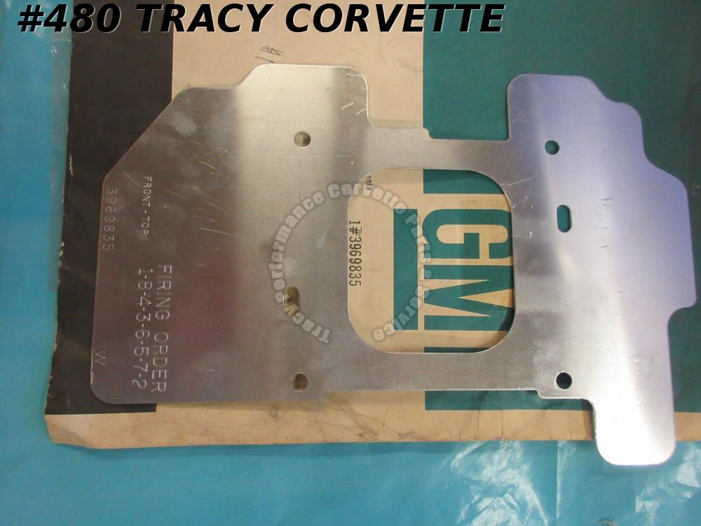 1964-1972 GM NOS 3969835 Holley Square Bore Carb Heat Shield Insulator Baffle/Ea