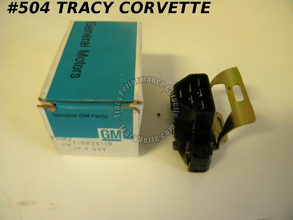 1963 63 Corvette Only NOS 3824116 Turn Signal Switch on Lower Steering Column