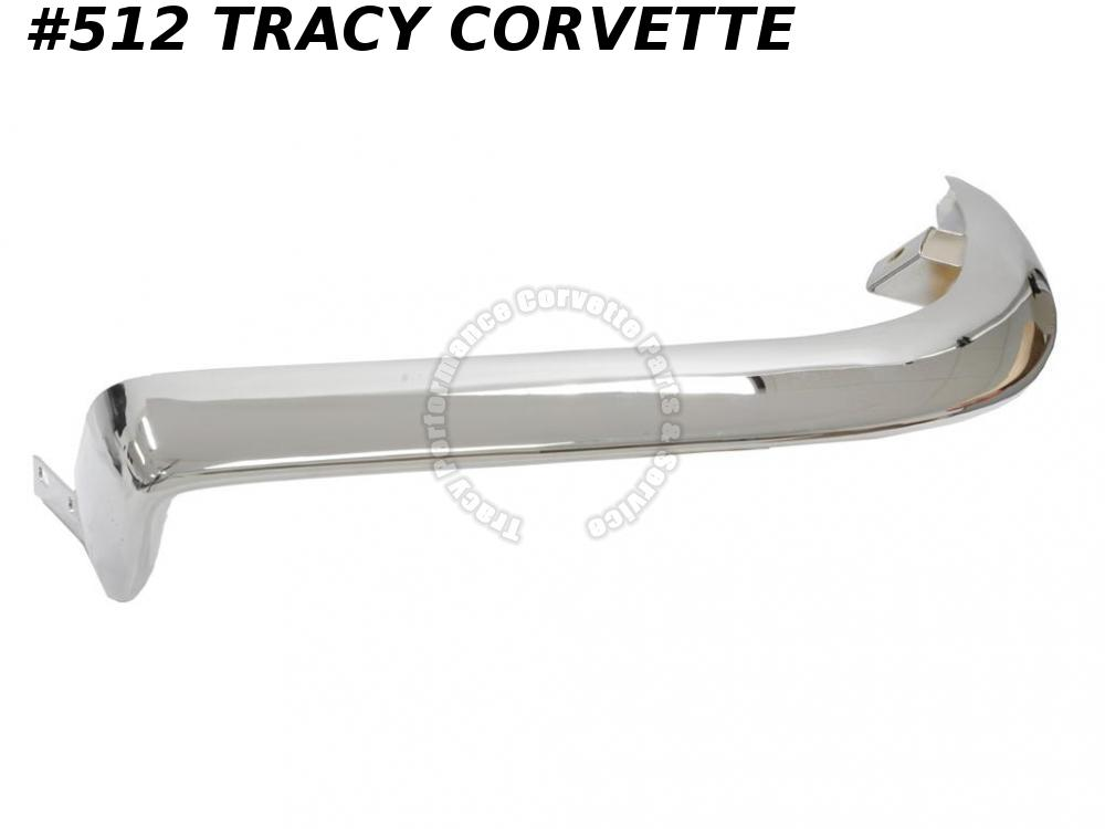 1963-1967 Corvette New Repro 3797337 US Made Left Front Bumper 63 64 65 66 67 C2