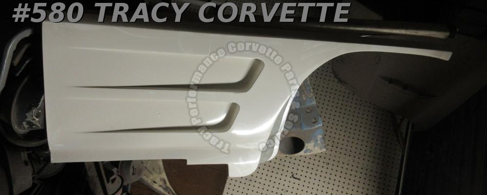 1963 1964 Corvette New Reproduction 3833358 RH Side Louver Fender Panel-H/Layup