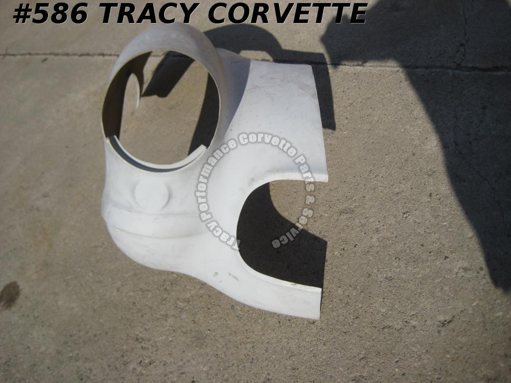 1956-1957 Corvette Partial RH Fr Corner/Top Fender Surround H/Lamp P/Lamp Panel