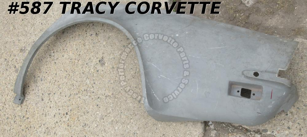 1970-1973 Corvette NOS 334749 SMC Glass LH Quarter Panel 70 1971 71 1972 72 73