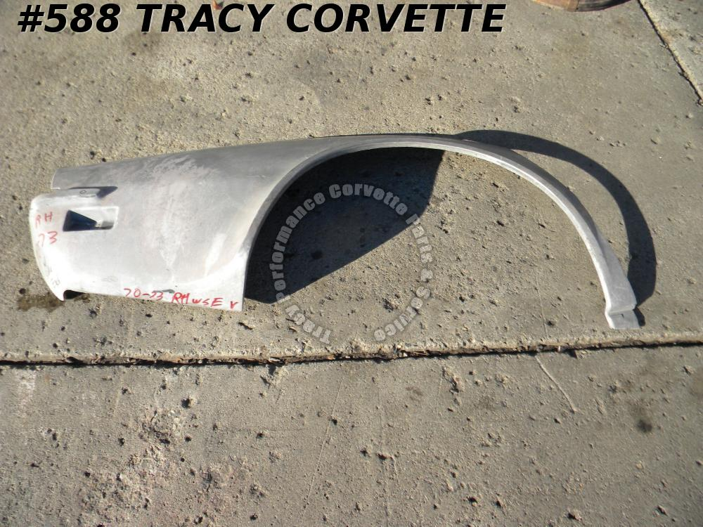 1970-1973 Corvette NOS 334750 SMC Glass RH Quarter Panel 70 1971 71 1972 72 73