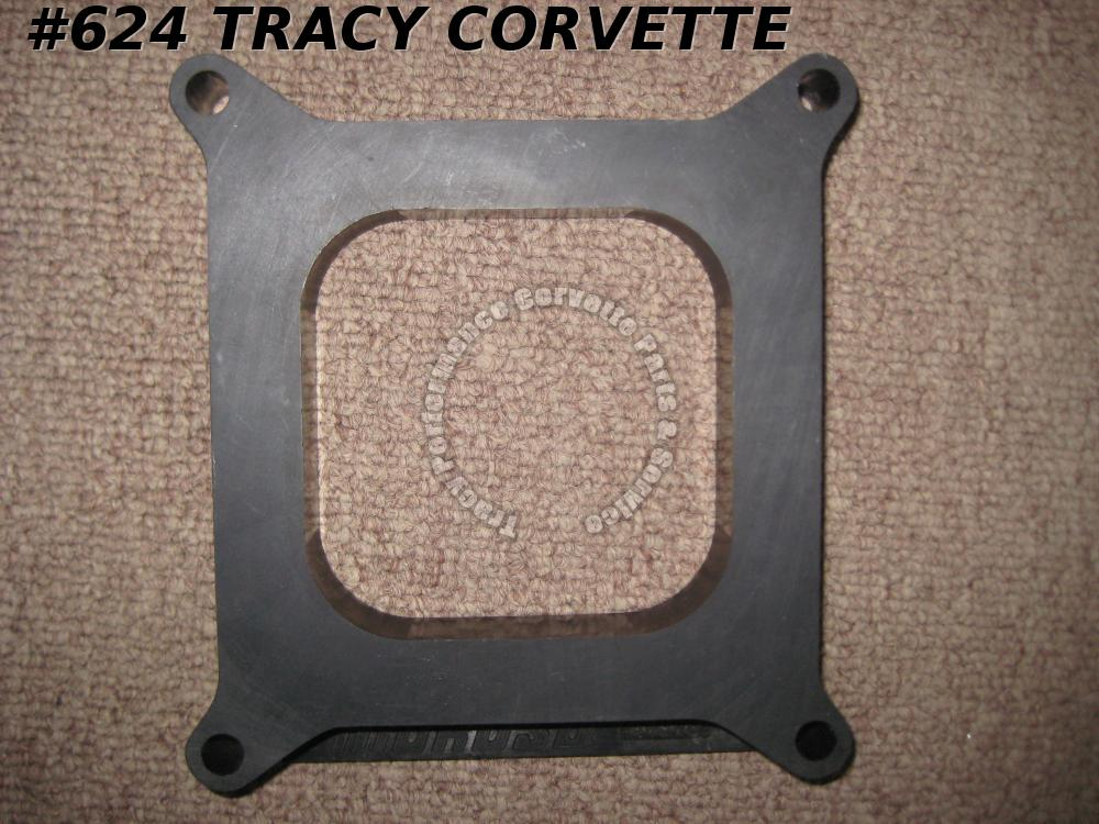 "1965 Up Moroso 64940 1"" Thick Plastic Square Bore Carb Spacer Holley Edelbrock"