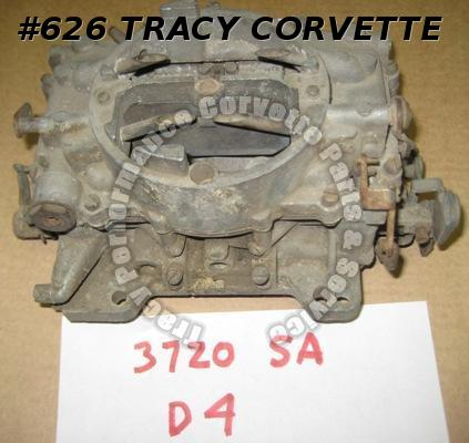 1964 Corvette Chevy Used 300 HP Carter AFB Carburetor 3720SA D4