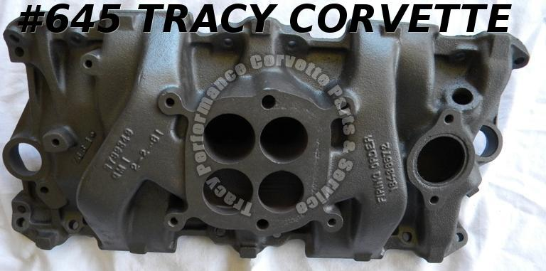 1962-1963 Corvette 3799349 AFB Iron Intake Manifold Choice of 1 327-300/275 HP