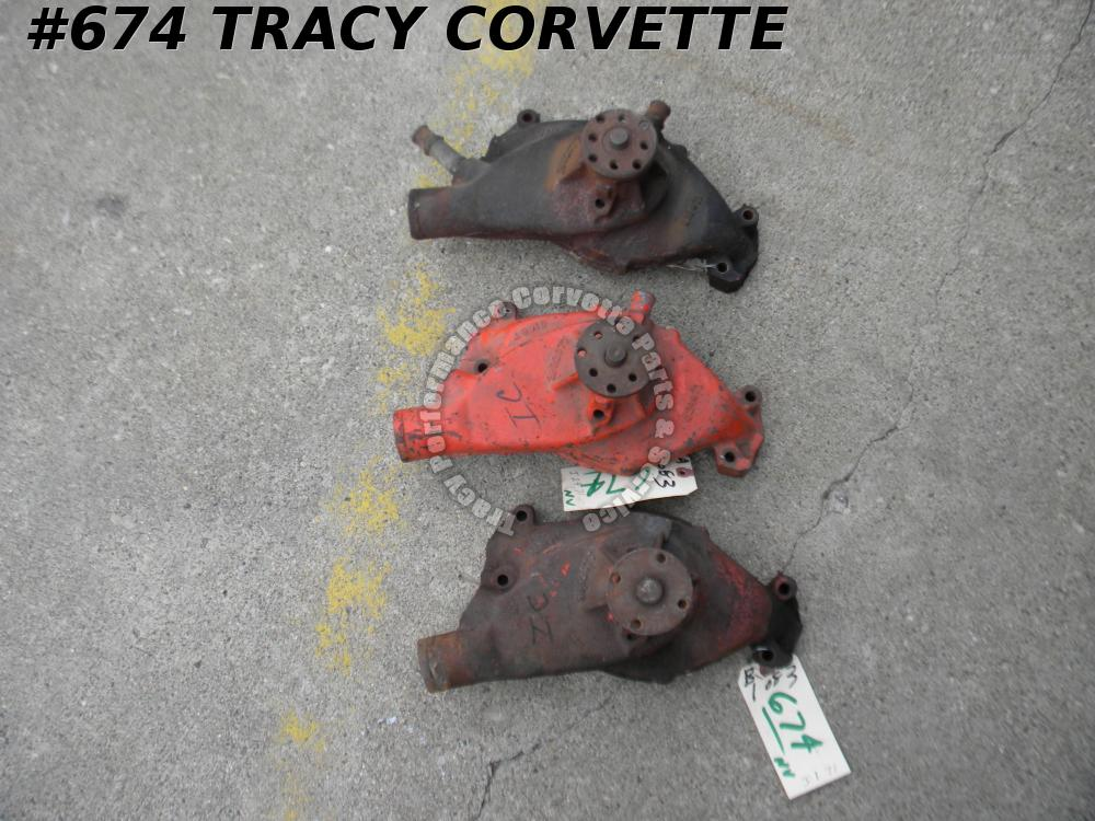 1972 Corvette GM# 3992077 Short Water Pump Big Block Available Date Codes *Core*