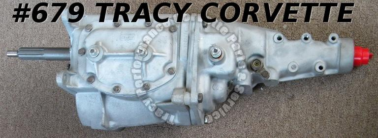 1963 Corvette Rebuilt Borg Warner CR 4 Speed Transmission 409 Chevy Small Flange