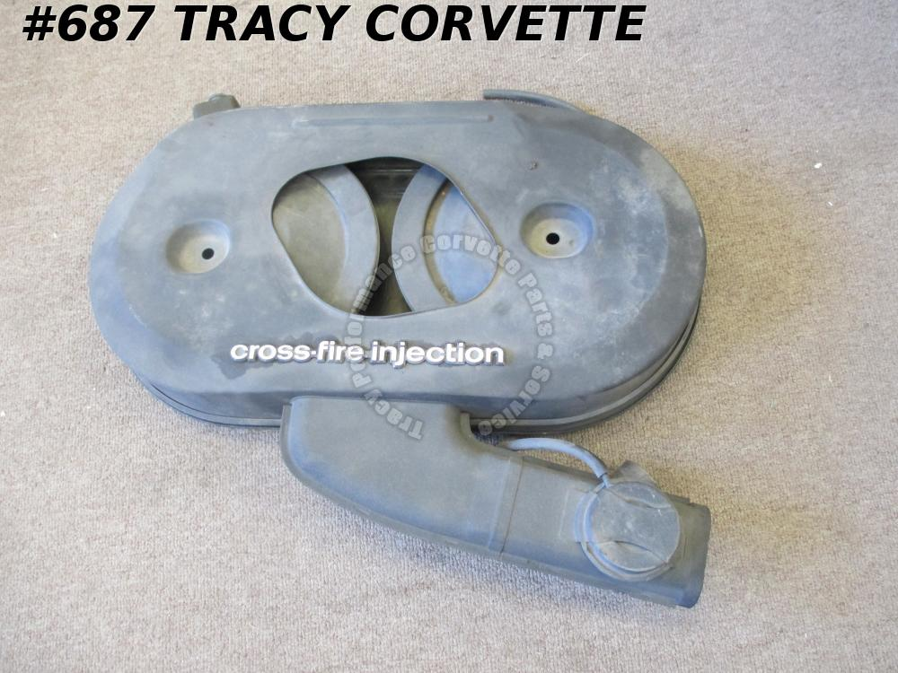 1982 Corvette Original Air Cleaner Top & Bottom Housing