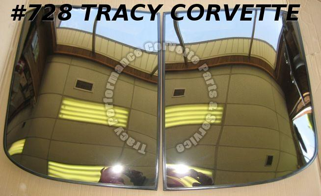 1978-82 Corvette Original LOF Bronze Glass T-Tops 78 79 80 81 82
