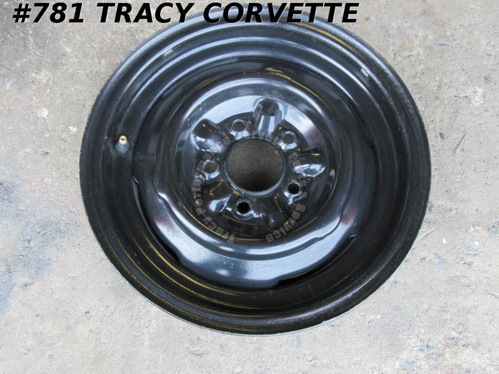 Used Steel Wheels : Corvette used quot steel wheel