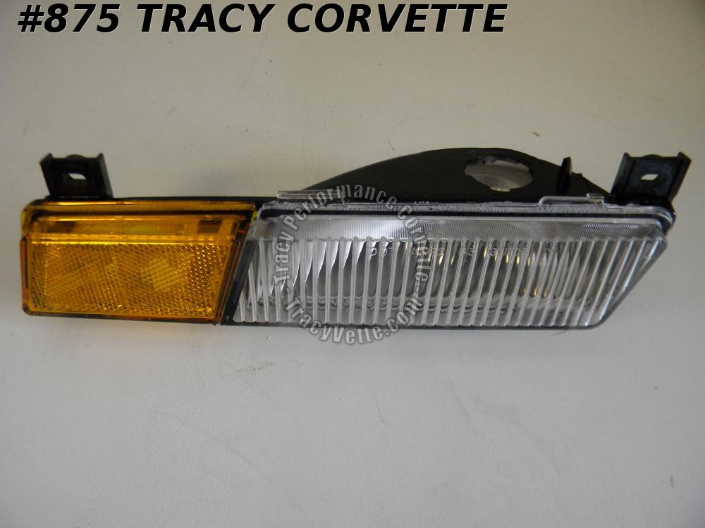 1984-1987 Corvette NOS 917885 LH Front Side Marker Lamp Casting Number 16500645