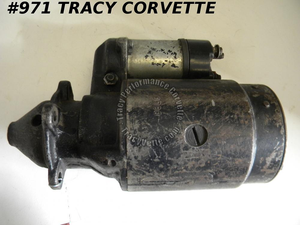 1957-1960 Corvette Used Orig 1107664 Delco Remy Starter Dated April 9, 59 Chevy