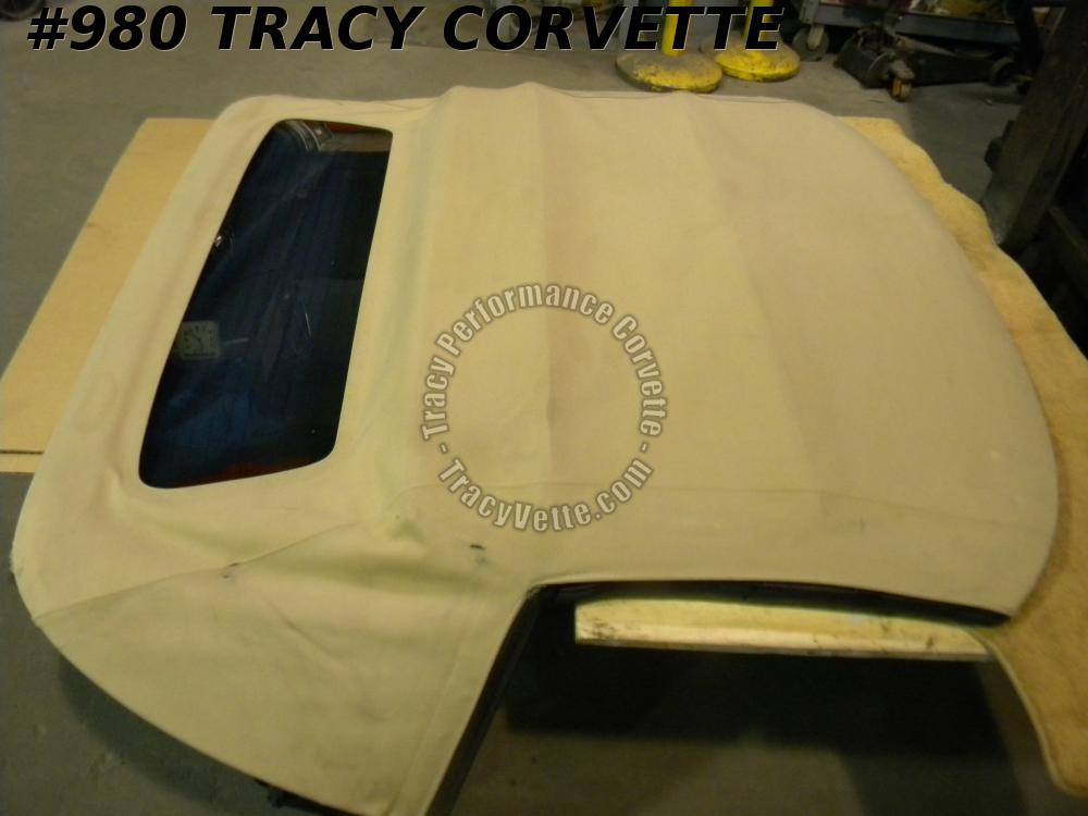 1998-04 Corvette Used Convertible Top Frame Assembly 99 2000 2001 2002 2003 2004