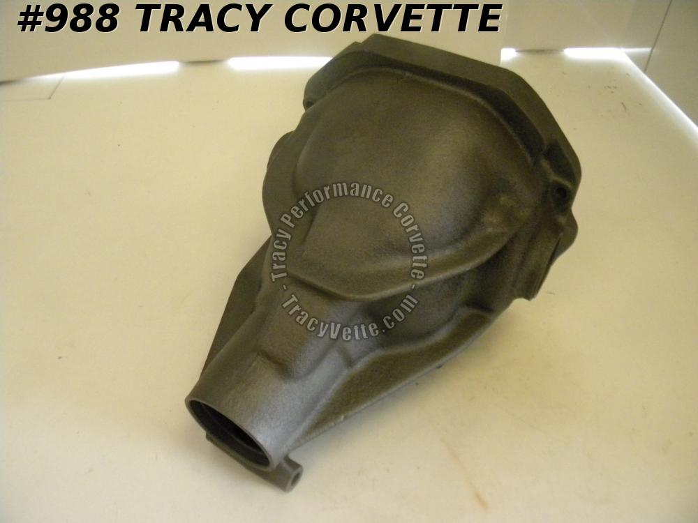 1965-1969 Corvette Used 3899143 SBC 327 Posi Axle Case w/Caps, Differential Hsg.